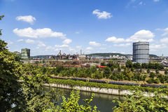 Free Panorama Of Volklingen Ironworks In Saar Stock Photo - 75740130