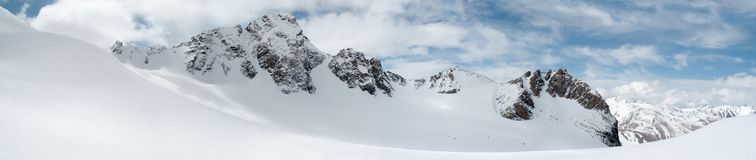 Free Panorama Of Winter Mountains Stock Photo - 2427030