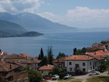 Panorama of Ohrid, Macedonia Stock Image