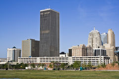 Panorama of Oklahoma City Royalty Free Stock Photo
