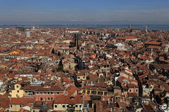 Panorama, Old Buildings, Venice, Venezia, Italy Royalty Free Stock Images