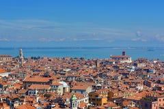 Panorama, Old Buildings, Venice, Venezia, Italy Stock Image