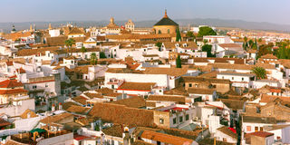 Panorama of the old city in Cordoba, Spain Stock Photos