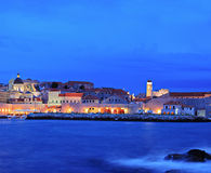 Panorama of an old city of Dubrovnik Stock Photos
