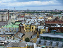 Panorama of old city.jpeg Stock Photography