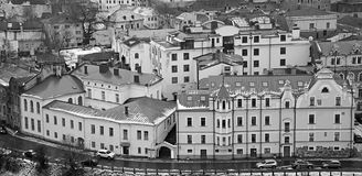 Panorama of old city Vyborg Royalty Free Stock Photo