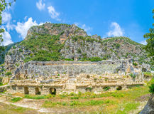 Panorama of old Myra Royalty Free Stock Photography
