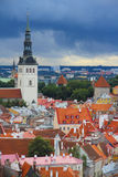 Panorama of old Tallinn Royalty Free Stock Images