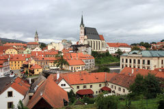 Cesky Krumlov, Czech republic, Czechia, Heritage Royalty Free Stock Photo