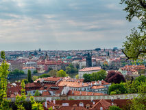Panorama of Old Town Prague Royalty Free Stock Images