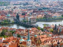 Panorama of Old Town Prague Stock Photo