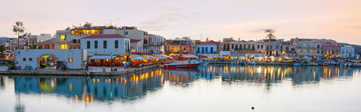 Panorama of old town Royalty Free Stock Photos