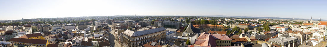 Panorama of Olomouc city, Czech republic Stock Photos