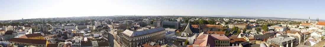Panorama of Olomouc city, Czech republic Stock Photos