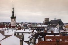 Panorama of Olomouc Stock Photo