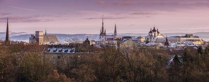 Panorama of Olomouc. Olomouc, Olomouc Region, Czech Republic Stock Photo
