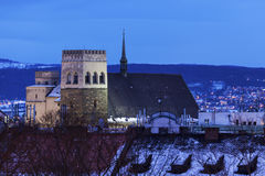 Panorama of Olomouc Royalty Free Stock Photos