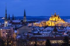 Panorama of Olomouc. Olomouc, Olomouc Region, Czech Republic Stock Photography