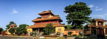 Panorama op de keizerstad van Tint, Thua-thien-Tint, Tint, Vietnam royalty-vrije stock afbeelding
