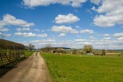 Panorama openlucht Royalty-vrije Stock Afbeeldingen