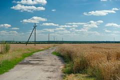 Panorama openlucht Stock Foto