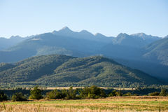 Panorama openlucht stock afbeelding