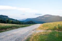 Panorama openlucht royalty-vrije stock afbeelding