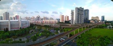 Panorama orientale di Jurong Fotografia Stock
