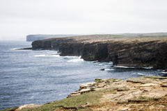 Panorama Orkney coastline Yesnaby cliff landscape 8 Stock Photos