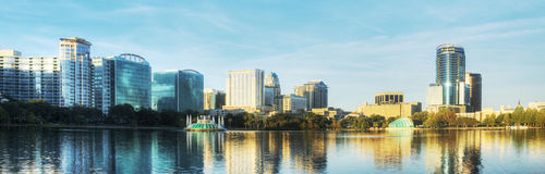 Panorama of Orlando Stock Photography
