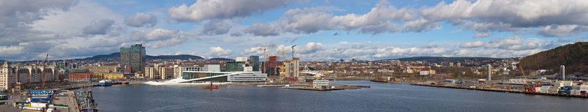 Panorama of Oslo Stock Photo