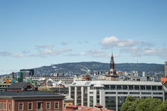 Panorama of Oslo Stock Photography