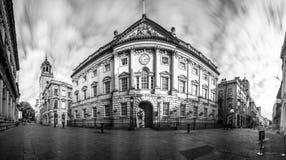 Panorama over Bristol Corn Exchange royalty-vrije stock afbeeldingen