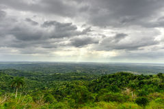 Panorama over Soroa, Cuba Royalty Free Stock Images