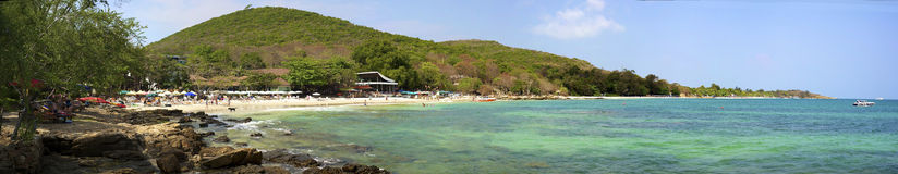 Panorama overlooking Ao Phai Beach Royalty Free Stock Photo
