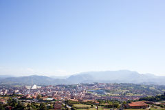 Panorama of Oviedo Stock Image