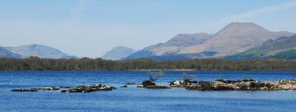 Panorama på Loch Lomond Royaltyfria Foton