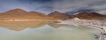 Panorama på Pierdras Rojas Arkivfoton