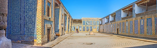 Panorama pałac podwórze Obraz Stock