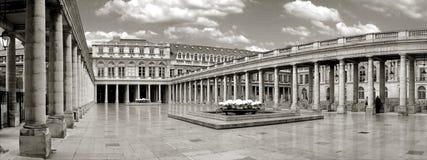 panorama pałacu. Fotografia Royalty Free