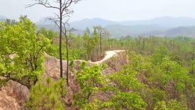 Panorama Pai jar, Tajlandia zbiory wideo