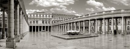 Panorama palace. In paris Royalty Free Stock Photography