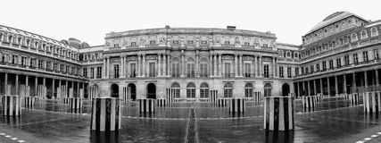 Panorama palace. One of the palaces in paris Royalty Free Stock Photography