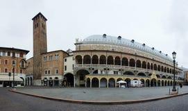 Panorama of Palazzo della Ragione in Padua, Italy Royalty Free Stock Photos