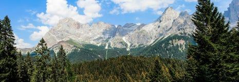 Panorama Pale di San Martino Fotografie Stock
