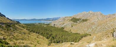 Panorama at Palma de Mallorca Stock Image