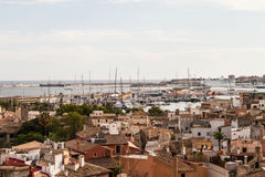 Panorama of Palma de Mallorca Stock Photo