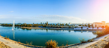 Panorama of Palma de Mallorca, Spain Stock Photography