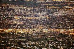 Panorama Palmowa pustynia fotografia royalty free