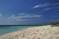 Panorama of paradise stock image